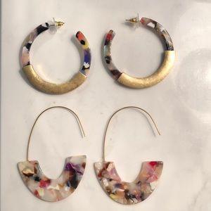 Gorgeous, lightweight earrings